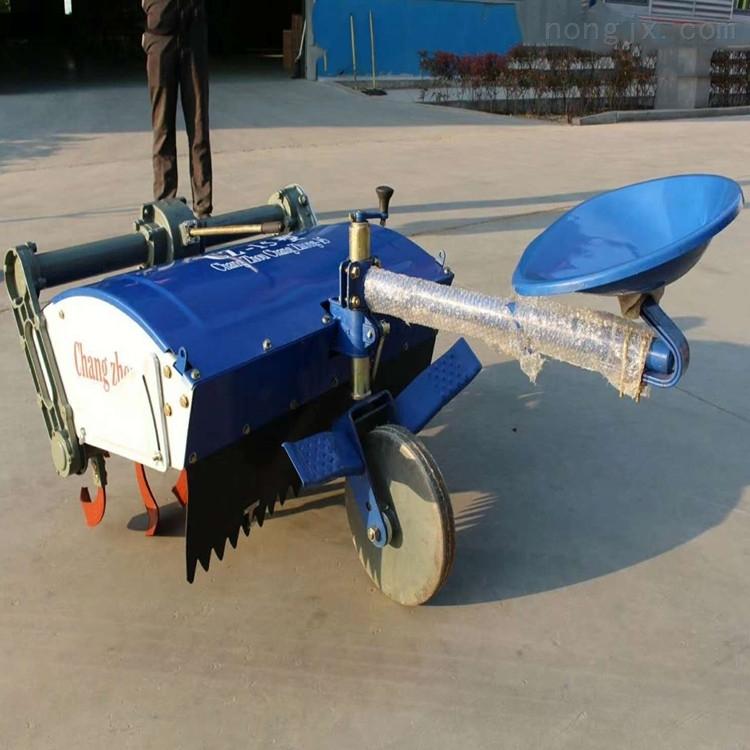 12匹马力大棚果园手扶拖拉机旋耕机