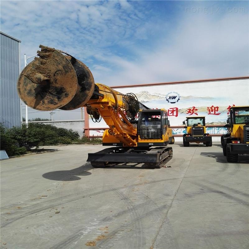 大口径轮式旋挖钻机 轮式地基打桩机 15米建筑旋挖钻机