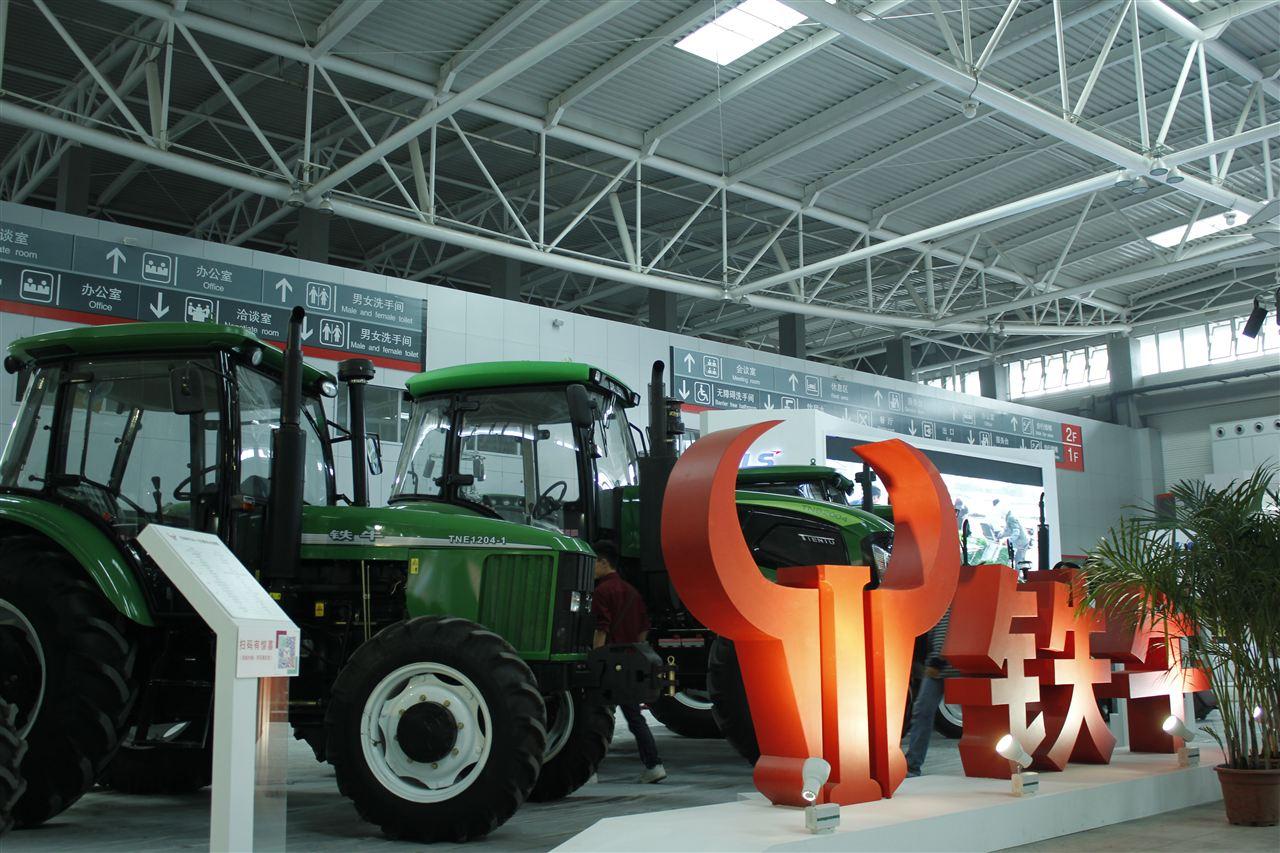 青岛国际农机展铁牛展台一览