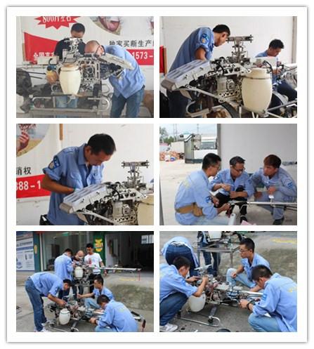 售后保障组  全力保障泗县30万亩飞防作业圆满完成