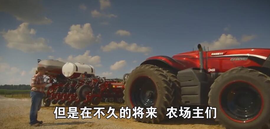 加拿大农场:无人拖拉机将下地干活
