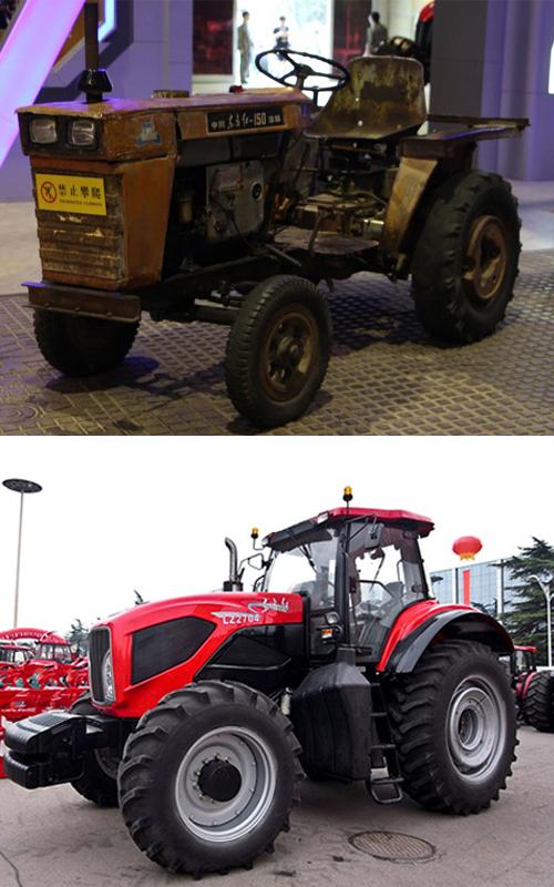 买台大马力的轮式农用拖拉机