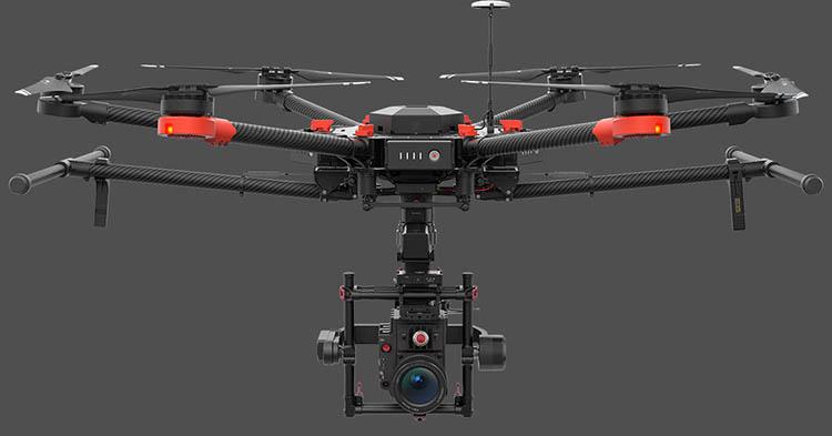 经纬m600-dji大疆专业航拍飞行器 经纬-m600